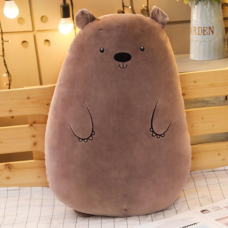 [FREESHIP - GIÁ SỐC] Gấu bông Gối ôm Animal Cực Đáng Yêu :: Thú Nhồi Bông Gấu Ôm Cực Êm Mịn Mát Ôm Mùa Hè Không Sợ Nóng