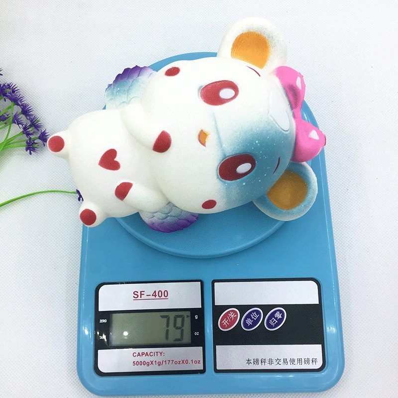 Rabbit Slow Rebound Squishy Glutinous Rice Simulation Pu Toy