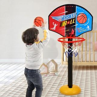 Bộ đồ chơi bóng rổ vận động cho trẻ em, Đồ chơi bóng rổ mini di động dành cho trẻ em – Muasamhot1208