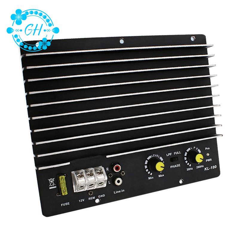 Bộ khuếch đại âm thanh 1200W chuyên dụng cho xe hơi