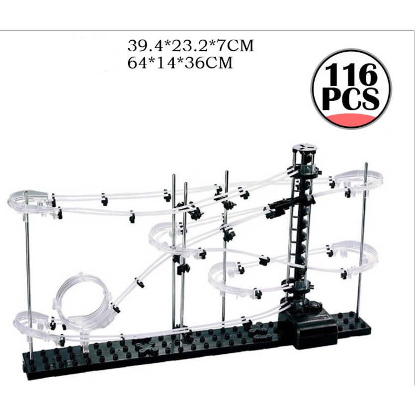 Mẫu 231-1 --> Đường ray không gian Space Rail cho bi sắt chuyển động theo quán tính