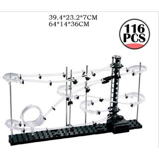 Mẫu 231-1 –> Đường ray không gian Space Rail cho bi sắt chuyển động theo quán tính