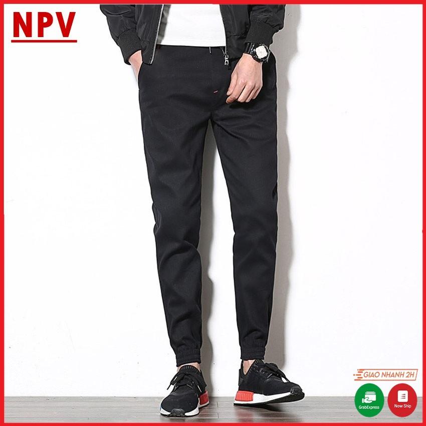 Quần jogger nam kaki NPV kiểu dáng thể thao,quần dài nam chất liệu kaki co giãn 4 màu