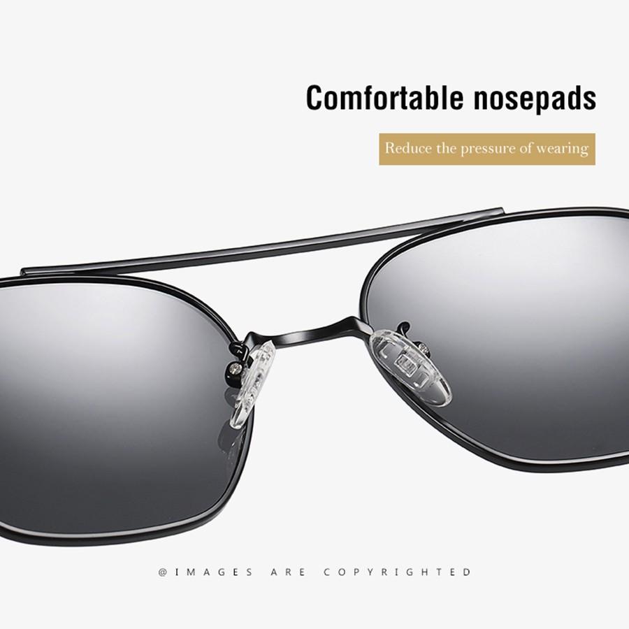 ROZA New Metal Polarized Sunglasses Men Outdoor Driving Fashion Woman Sunglasses Brand Design UV400 AE0791