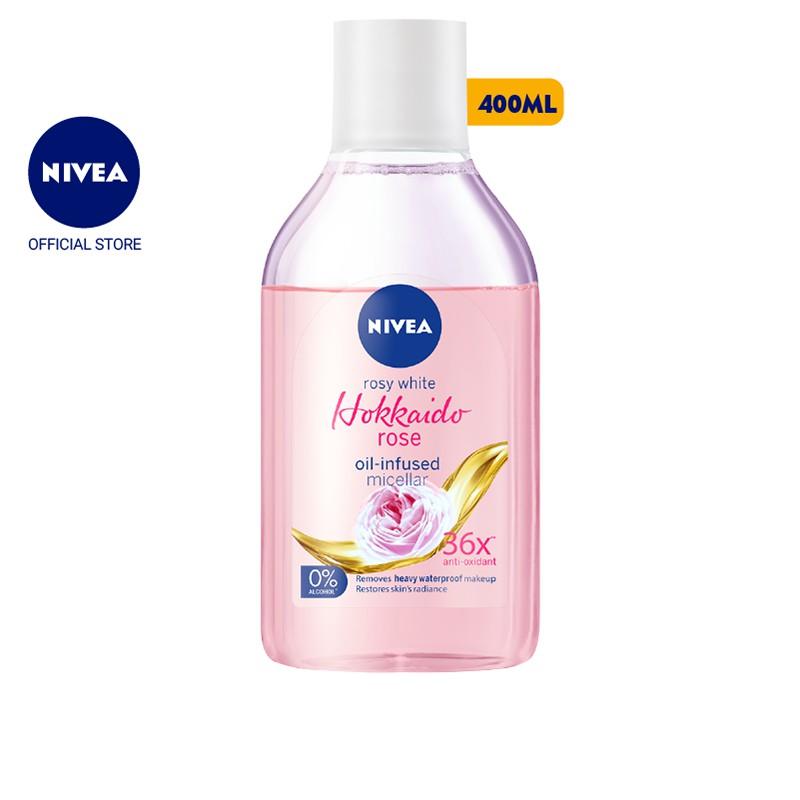Nước tẩy trang NIVEA chiết xuất hoa hồng Hokkaido (400ml) -