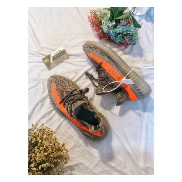 Ảnh Thật : Giày Thể Thao V2 Beluga 350 Xám / Cam [ Full