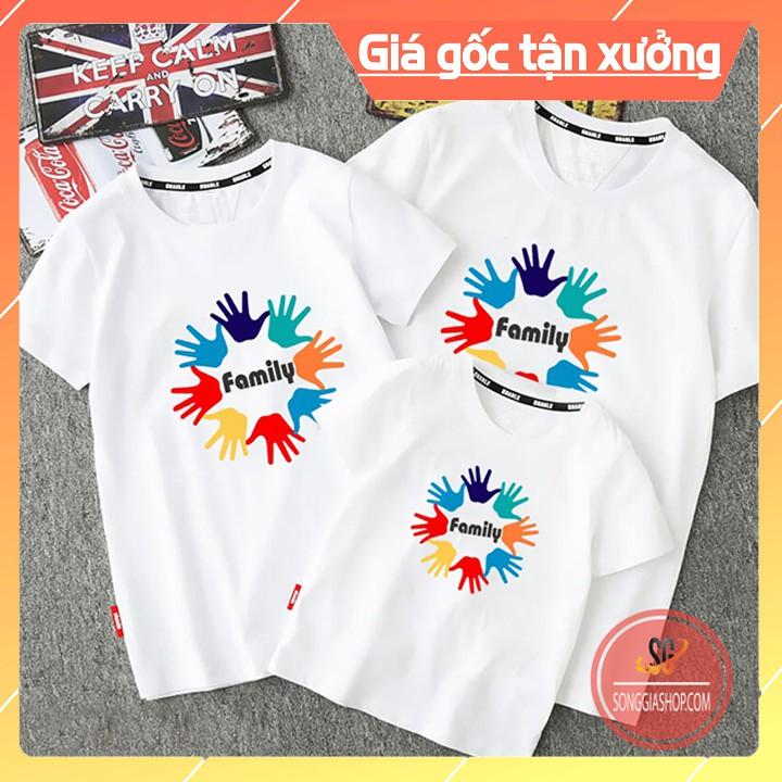 Áo Gia Đình Family - Thun Cotton - Đủ Size GD303T
