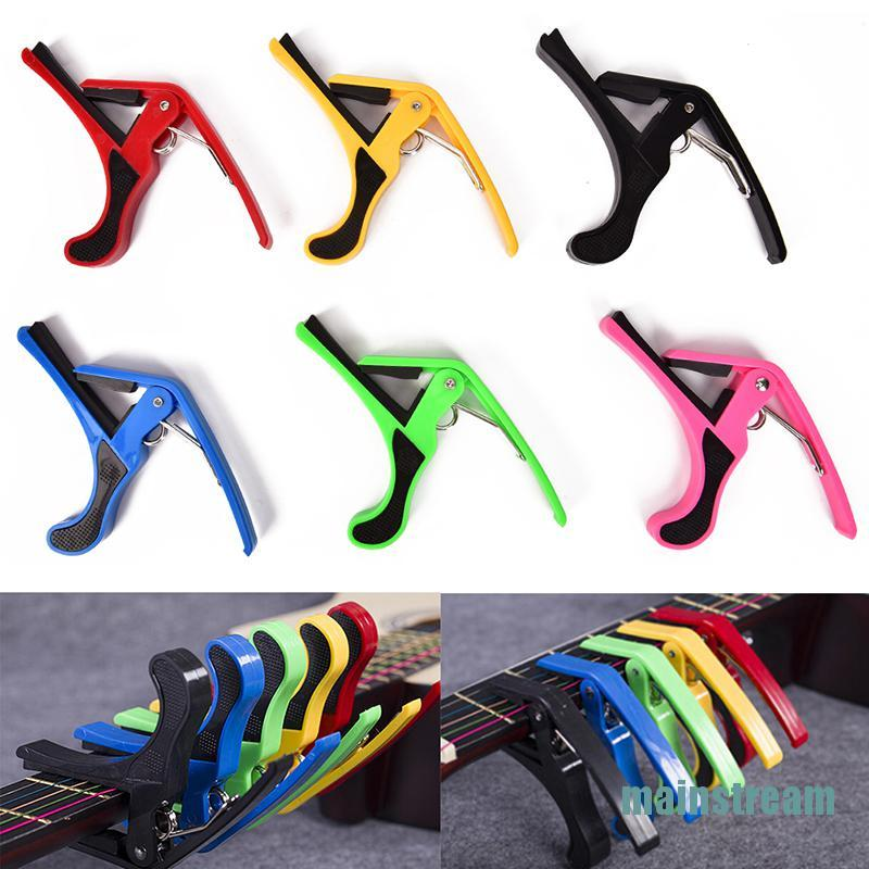 ❤mainstream❤ Quick Change Clamp Key Acoustic Classic Guitar Capo For Electric Acoustic Guitar