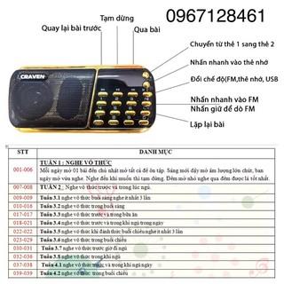 Loa nghe tắm ngôn ngữ bibo/ loa học tiếng anh bibo english caraven 3 pin 853