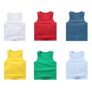Áo ba lỗ cotton cho bé trai bé gái (từ 1 - 8 tuổi) VEMZKIDS thumbnail