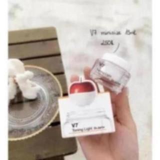 Kem dưỡng trắng tái tạo da V7 Toning light Hàn Quốc size mini 15ml vb14s 1 5 1 2