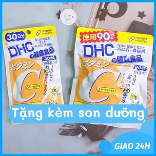 Viên uống DHC Bổ sung Vitamin C Nhật Bản 60v/gói và 180v/gói