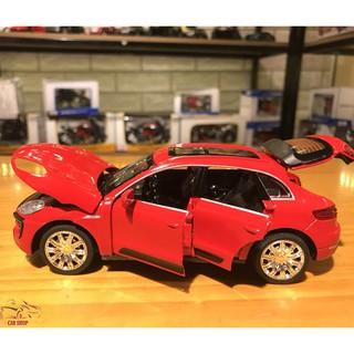 Mô hình xe ô tô Porsche Macur Turbo tỉ lệ 1:32 màu đỏ hàng Quảng Châu