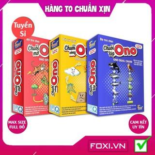 [FREESHIP HÀNG ĐẸP] Board game-Flashcard-Chuỗi Ono Foxi-đồ chơi trẻ em-thẻ thông minh-tư duy-vui nhộn-ghi nhớ logic.