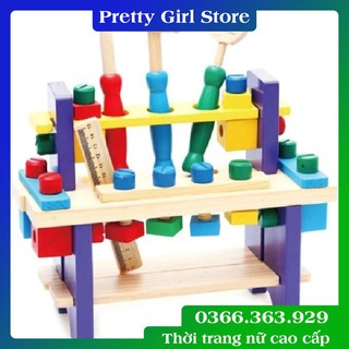 Giáo Cụ Montessori – Bộ đồ chơi dụng cụ sửa chữa bằng gỗ cho trẻ