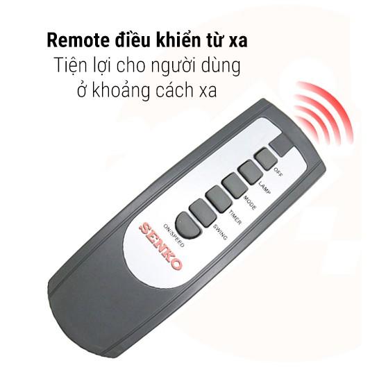 Remote quạt Senko các dòng