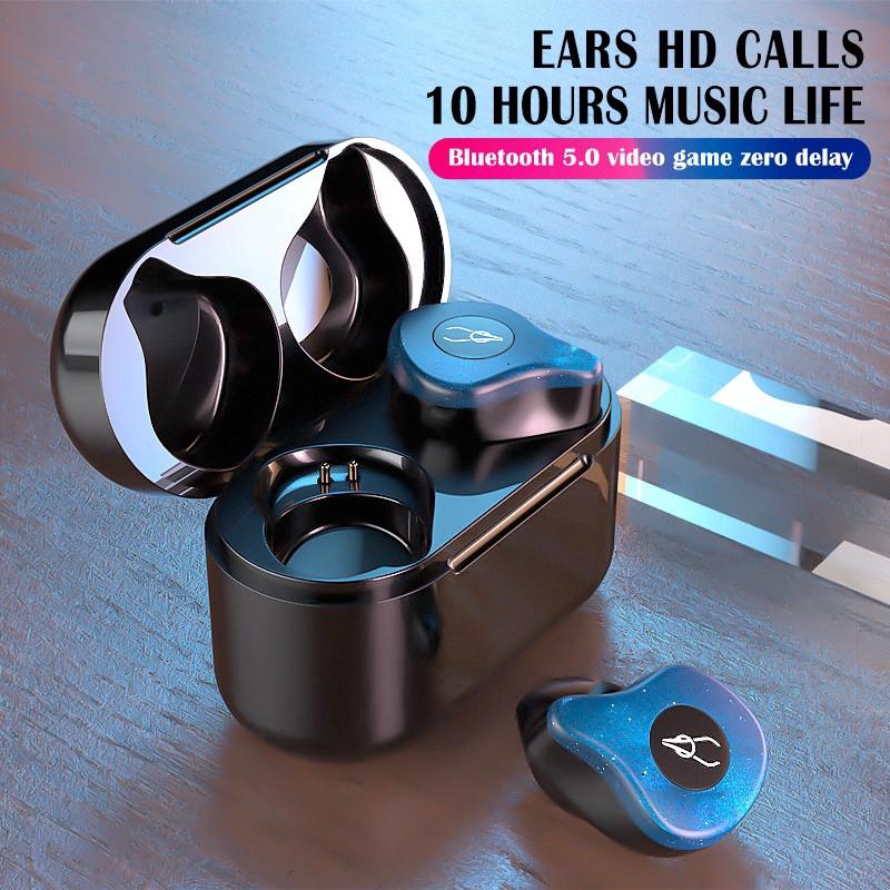 Bộ 2 tai nghe Bluetooth Sabbat TWS X12 Pro chất lượng cao kèm phụ kiện và dock sạc -dc3653