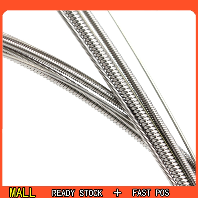 6 Pcs Professional Guitar Strings Nickel Alloy Plated Electric Guitar Strings Replacement QE23