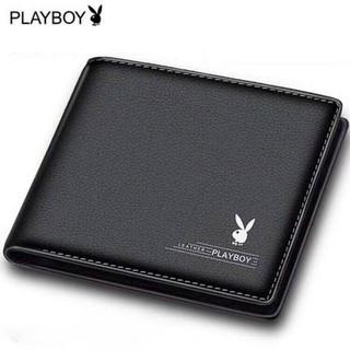 Ví da nam Playboy chất đẹp thời trang hàng hiệu Ví nam nhiều ngăn cao cấp Bóp da PU nhập khẩu chính hãng GC35 thumbnail