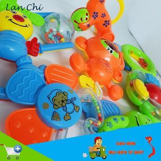 [SALE CỰC MẠNH] Bộ đồ chơi xúc xắc 8 món vui nhộn