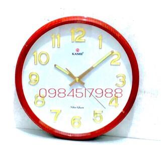 Đồng hồ treo tường HM323 dạ quang+TẶNG pin panasonic