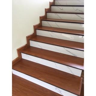 Mặt bậc cầu thang gỗ công nghiệp siêu đẹp