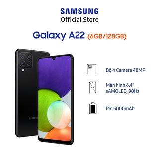 Hình ảnh [Mã ELSAMHOT giảm 5% đơn 3TR] Điện thoại Samsung Galaxy A22 (6GB/128GB)-2