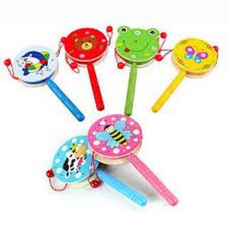 [SALE SẬP SÀN] đồ chơi đáng yêu cho bé – ĐỒ CHƠI GỖ CHO BÉ DẠNG TRỐNG | Bán Chạy