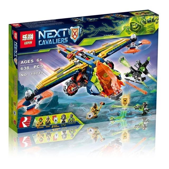 Lego nexo 14044 - Chiến cơ của Aaron 638 khối