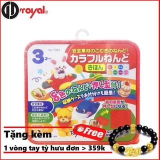 [Giá Rẻ Nhất] Bộ bột nặn tạo hình 8 màu Toyroyal
