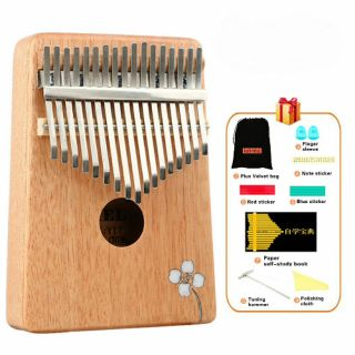 Đàn Kalimba 17 Phím Gỗ Mahogany Yael Y17M-AF – (Hoa Táo – Mbira Thumb Finger Piano 17 Keys)