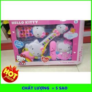 Bộ 3 nhạc cụ Kitty #1203 | TẠI HÀ NỘI