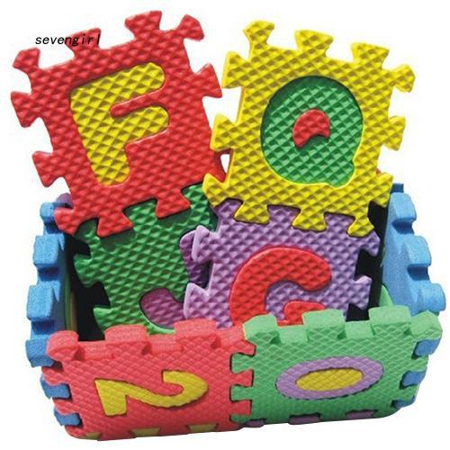 〖MO〗36 Pcs/Set Child Kids Novelty Alphabet Number EVA Puzzle Foam Teaching Mats Toy