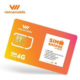 [Miễn phí 6 tháng] Sim số Vietnamobile data 6gb 1 ngày