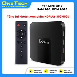 [ GIÁ HỦY DIỆT ] Android Box TX3 Mini 2019, Ram 2GB, Rom 16GB