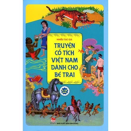Sách - Truyện Cổ Tích Việt Nam Dành Cho Bé Trai - 8935036699381