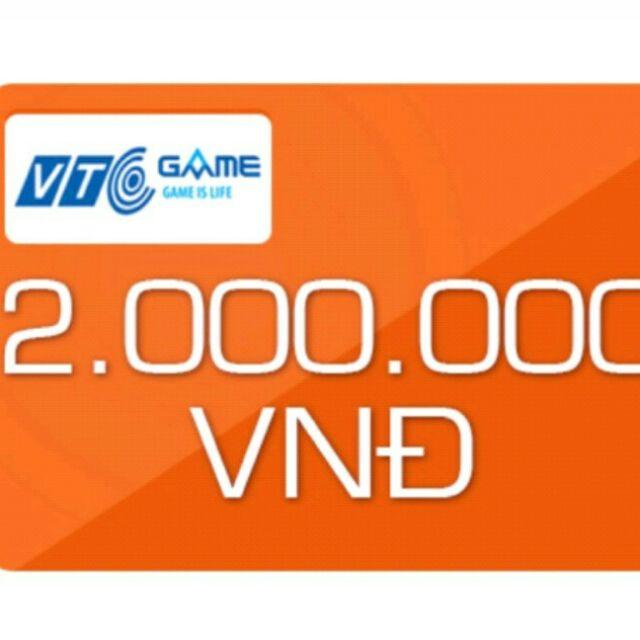 Thẻ game vtc 2000k - 3111688 , 1259674797 , 322_1259674797 , 1960000 , The-game-vtc-2000k-322_1259674797 , shopee.vn , Thẻ game vtc 2000k