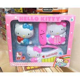 Hộp đàn Hello Kitty