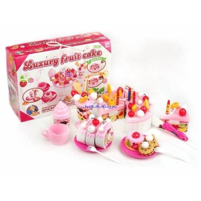 Bộ đồ chơi cắt bánh sinh nhật cho bé - 3163759 , 503561343 , 322_503561343 , 130000 , Bo-do-choi-cat-banh-sinh-nhat-cho-be-322_503561343 , shopee.vn , Bộ đồ chơi cắt bánh sinh nhật cho bé