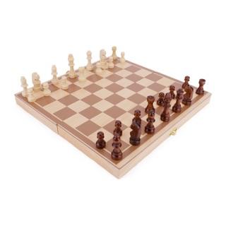 Cờ vua – đồ chơi gỗ – hình thật