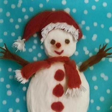 [Voucher-Khóa học Online] Vẽ tranh Người tuyết đẹp lung linh trên bánh thạch 3D [Toàn Quốc]