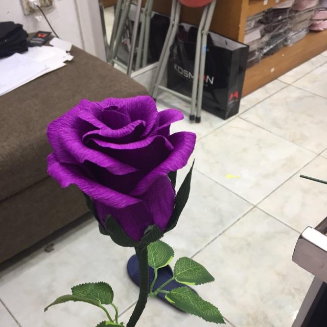 Hoa hồng làm từ giấy nhún handmade cắm lọ hoặc bó..... nhận làm theo yêu cầu hoặc sỉ .nhận ship các tỉnh và nội thành - 21533871 , 830888767 , 322_830888767 , 15000 , Hoa-hong-lam-tu-giay-nhun-handmade-cam-lo-hoac-bo.....-nhan-lam-theo-yeu-cau-hoac-si-.nhan-ship-cac-tinh-va-noi-thanh-322_830888767 , shopee.vn , Hoa hồng làm từ giấy nhún handmade cắm lọ hoặc bó..... nh