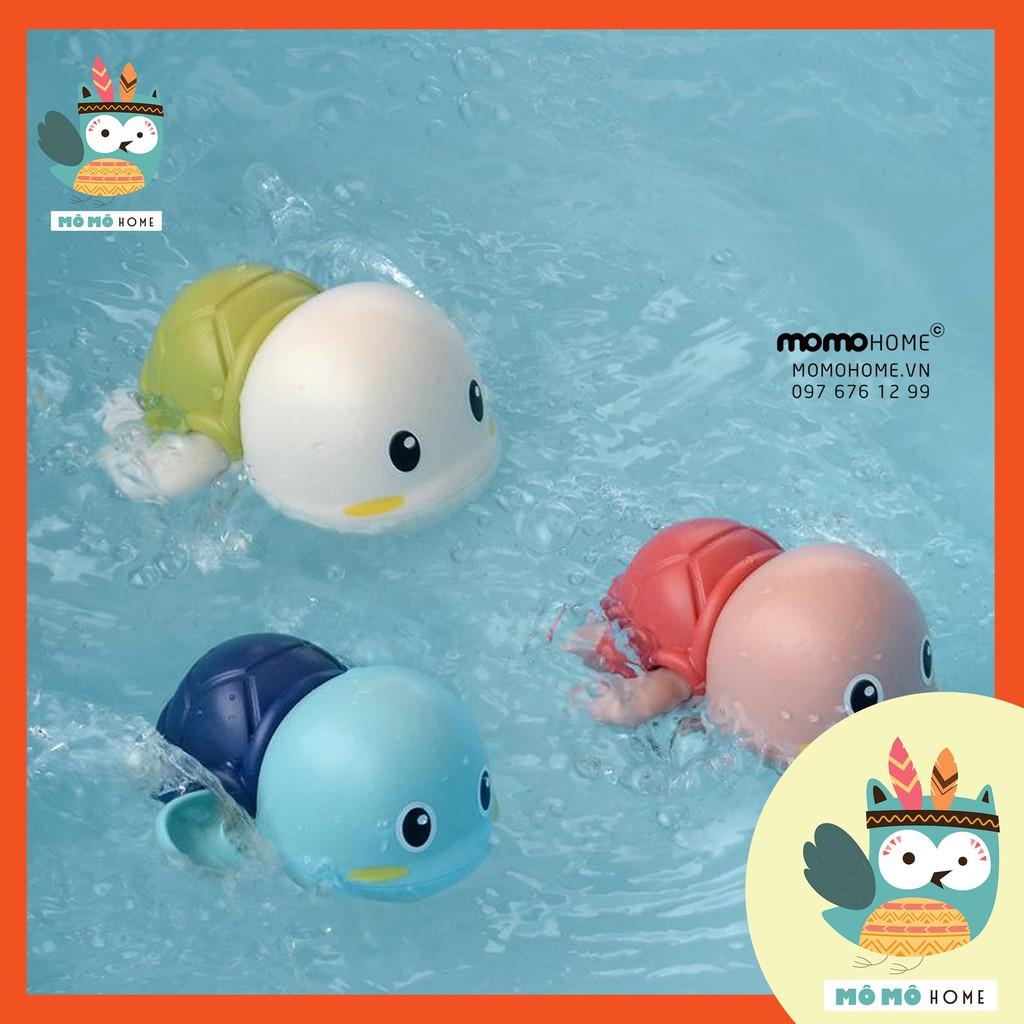 Rùa bơi lội vặn cót dưới nước, đồ chơi nhà tắm an toàn, vui nhộn (Nhựa ABS chất lượng, an toàn)