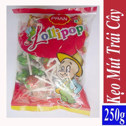 Kẹo Mút Pran Lollipop Gói 250g-25 cái - 3151071 , 701154304 , 322_701154304 , 22000 , Keo-Mut-Pran-Lollipop-Goi-250g-25-cai-322_701154304 , shopee.vn , Kẹo Mút Pran Lollipop Gói 250g-25 cái