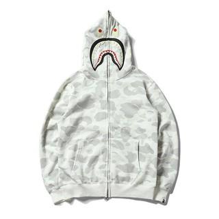 [Free Ship HN/HCM] – Áo Jacket BAPE Trắng kem