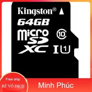 Thẻ nhớ Kingston 64G chính hãng bảo hành 5 năm thumbnail