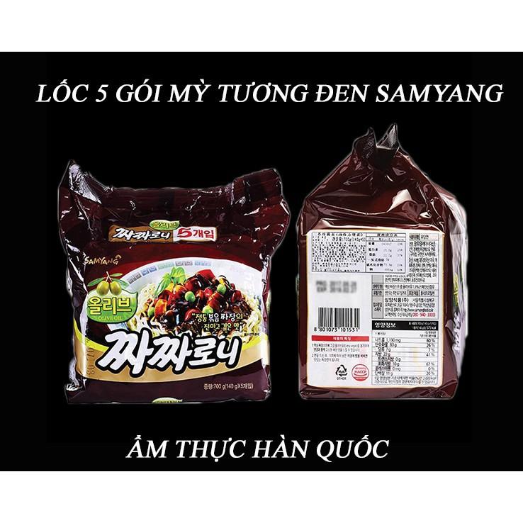 Mì tương đen Samyang Hàn Quốc lốc 5 gói - 22443029 , 4706940674 , 322_4706940674 , 89000 , Mi-tuong-den-Samyang-Han-Quoc-loc-5-goi-322_4706940674 , shopee.vn , Mì tương đen Samyang Hàn Quốc lốc 5 gói