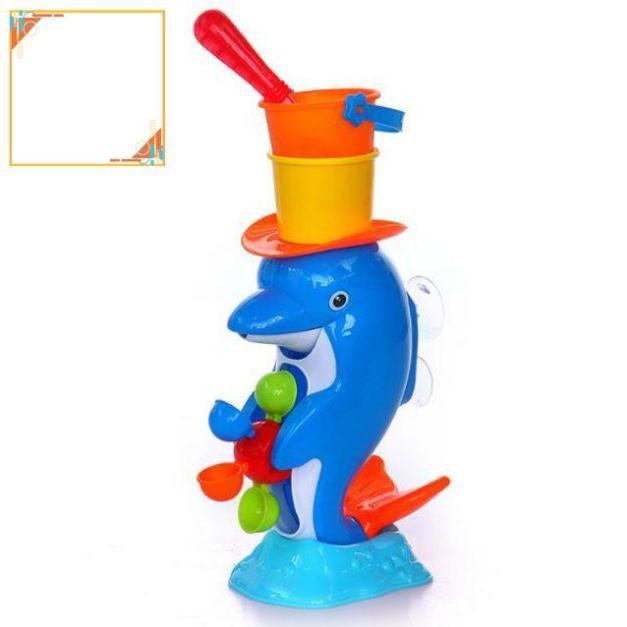 Đồ chơi nhà tắm cho bé – cá heo, vịt vàng – BN327