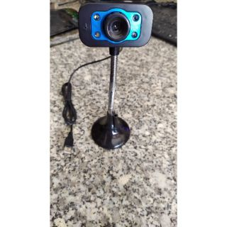 Webcam có mic và đèn, sắc nét học Online bán đồ livestream online thumbnail