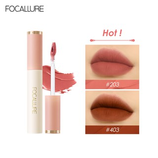 Focallure Smooth Velvet Matte Lipstick Tint High Pigmented Soft Silky Texture Easy To Apply 1pc 24g thumbnail